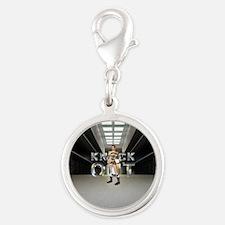 Pataki for President Silver Round Charm