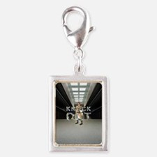 Pataki for President Silver Portrait Charm