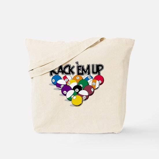 Rack Em Up Pool Tote Bag