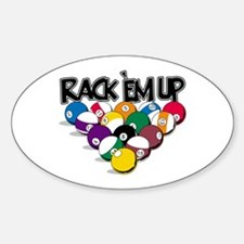 Rack Em Up Pool Decal