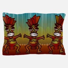 Tiki Men Pillow Case