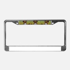 Tiki Men License Plate Frame