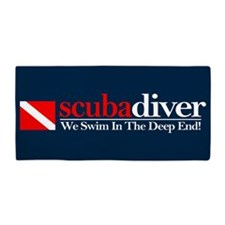 scubadiver Beach Towel