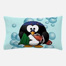 Swimmer Penguin Swimming Pillow Case