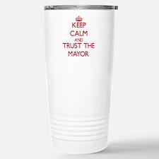 Cute Mayor Travel Mug