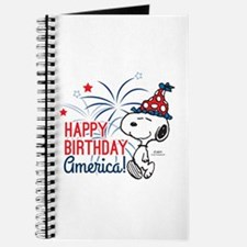 Snoopy - Happy B-Day America Journal