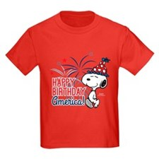 Snoopy - Happy B-Day America T