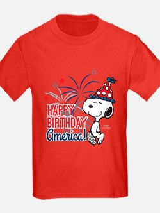 Snoopy - Happy B-Day America T
