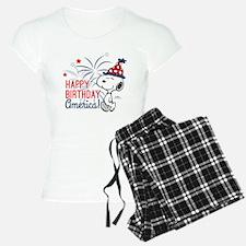 Snoopy - Happy B-Day Americ Pajamas