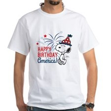 Snoopy - Happy B-Day America Shirt