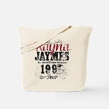Reyna James 90s Tour Vintage Tote Bag