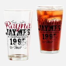 Reyna James 90s Tour Vintage Drinking Glass