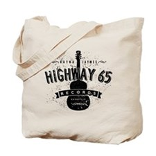 Highway 65 Records Nashville Tote Bag