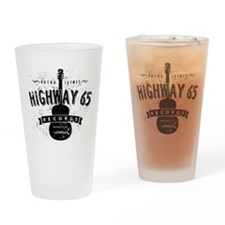 Highway 65 Records Nashville Drinking Glass