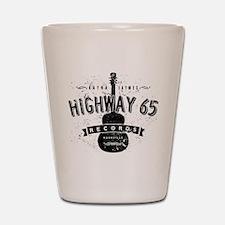 Highway 65 Records Nashville Shot Glass