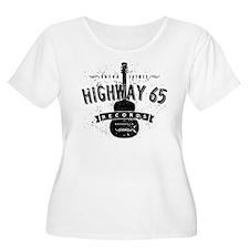 Highway 65 Records Nashville Plus Size T-Shirt