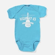 Highway 65 Records Nashville Baby Bodysuit
