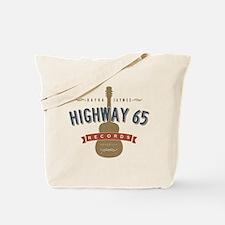 Highway 65 Records Nashville Tote Bag