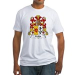 Pichot Family Crest Fitted T-Shirt