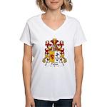 Pichot Family Crest Women's V-Neck T-Shirt