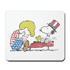Snoopy - Vintage Schroeder Mousepad