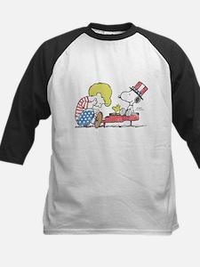 Snoopy - Vintage Schroeder Kids Baseball Jersey