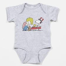 Snoopy - Vintage Schroeder Baby Bodysuit