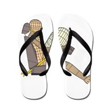 crash test dummies Flip Flops