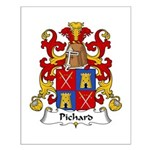 Pichard Family Crest Small Poster