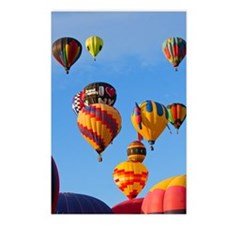 Balloons 6788 Ascending Postcards (Package of 8)