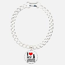 I Love My Labrador Retri Bracelet
