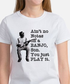 "Bold ""Ain't No Notes on a Banjo"" Tee"