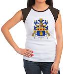 Picart Family Crest  Women's Cap Sleeve T-Shirt