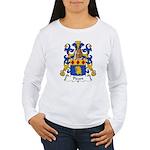 Picart Family Crest  Women's Long Sleeve T-Shirt