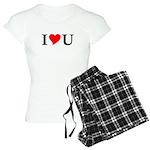 I Love U Women's Light Pajamas