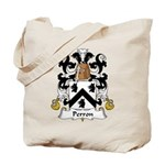 Perron Family Crest Tote Bag
