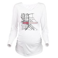 Thrice Long Sleeve Maternity T-Shirt