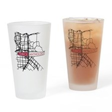 Thrice Drinking Glass