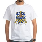 Perriere Family Crest White T-Shirt