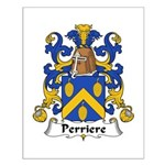 Perriere Family Crest  Small Poster