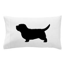 PBGV Silhouette Pillow Case