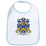 Perriere Family Crest  Bib