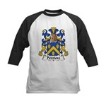 Perriere Family Crest  Kids Baseball Jersey