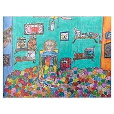 A Knitter's Dream Poster