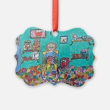 A Knitter's Dream Ornament