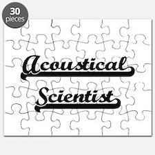Acoustical Scientist Artistic Job Design Puzzle
