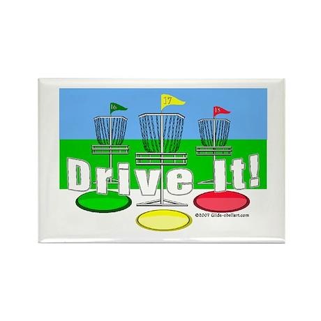 Drive It! Rectangle Magnet