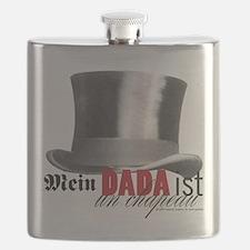 DADA Day, three Flask