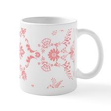 Pink Damask Mugs