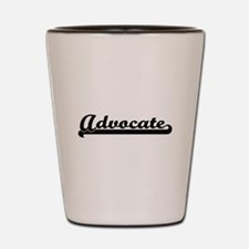 Advocate Artistic Job Design Shot Glass